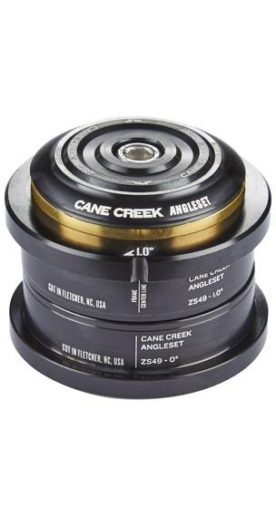 Cane Creek AngleSet Serie sterzo 1°, ZS49/28.6 I ZS49/30 nero